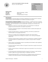Therapist Resume Speech Therapist Resume Free Resume Example And Writing Download