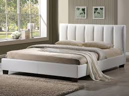 4ft bed limelight 4ft pulsar small double white faux leather bed frame