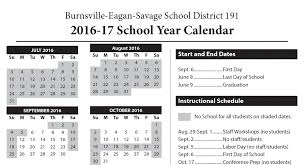 academic calendars set for next two years isd 191