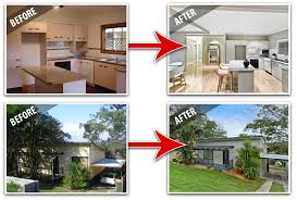 house renovation before and after kitchen and exterior renovations renovations before after