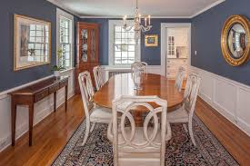 Two Tone Dining Room Ideas Pictures Designing Idea - Blue and white dining room