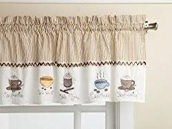 Coffee Themed Curtains Chic And Creative Coffee Themed Kitchen Curtains Furniture Gallery