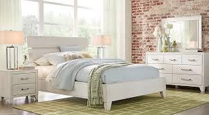 crestwood creek off white 5 pc queen panel bedroom queen bedroom