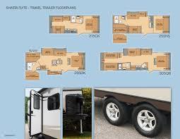shasta rv floor plans woody u0027s trailer world shasta flyte lightweight travel trailer