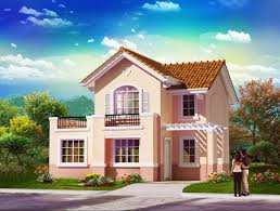 two storey house with firewall home beauty philippine house design with floor plan