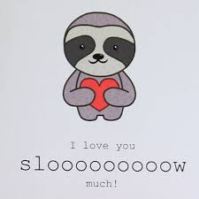 sloth s day card by miss shelly designs