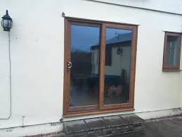Upvc Sliding Patio Doors Oak Effect Upvc Sliding Patio Doors In Brentwood Essex Gumtree