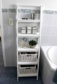 Espresso Wall Cabinet Bathroom by Shiny Creamy Granite Countertops Connected Backsplash Iron Shelves