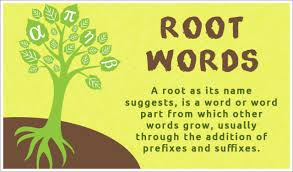 list of root words for explore question root words