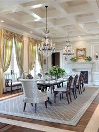 Chandelier Above Dining Table Formal Dining Rooms With Chandelier Dining Table And