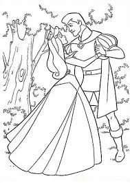 princess aurora dancing prince phillip coloring pages