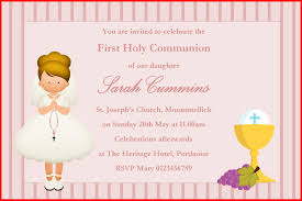 communion invitations for girl best of communion invitations collection of invitation style 68148