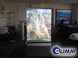 smart glass intelligent switchable by glimm display