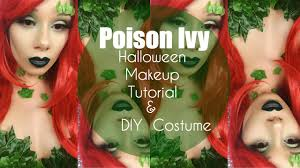 Green Ivy Halloween Costume Poison Ivy Diy Costume U0026 Makeup