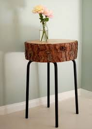 Making Wooden End Tables by Best 25 Log Projects Ideas On Pinterest Logged Out Log Snowman
