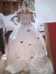 occasion mariage de mariée écru et bordeaux d occasion avec accessoires
