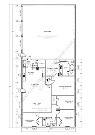 barndominium floors pole barn house and metal houses floor plans
