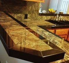 Tile Kitchen Countertop Designs Tile Countertop The Sign Pinteres