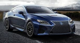 lexus rc f coupe future cars brutish lexus rc f coupe to take on ze germans