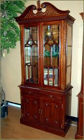 Corner Curio Cabinets Walmart by Corner Lighted Curio Cabinet Home Design Ideas