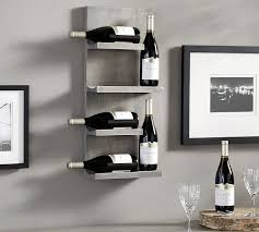 awesome wood wine rack pottery barn throughout wine racks wall