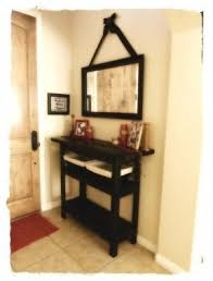 Hallway Table And Mirror Entryway Table And Mirror Sets Foter
