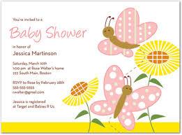 Butterfly Invitations Butterfly Invitations For Baby Shower Cimvitation