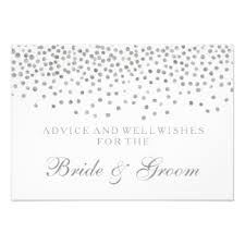 Wedding Wishes And Advice Cards Wedding Advice Cards Zazzle