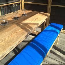buy custom outdoor bench cushion patio lane