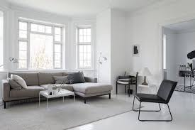 Nordic Home Interiors Breezy Black And White Apartment In A Historic Danish Villa