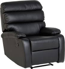 Black Leather Recliner Chair The Beautiful Bellamy Faux Leather Recliner Chair In Antique Black