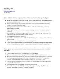 Va National Service Desk by Jenniffer Davis Current Resume Berryville