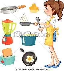 objets de cuisine autre femme cuisine objets cuisine femme objets clipart