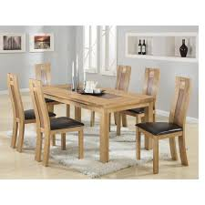 Dining Room Sets 6 Chairs Solid Oak Dining Table And 6 Chairs Sensational Kitchen Dining