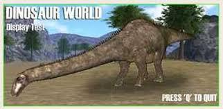 dinosaur computer games