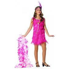 Roaring 20s Halloween Costumes Kids 1920s Pink Flapper Girls Halloween Costume Small Ebay