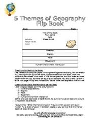 5 themes of geography acronym 5 themes of geography teaching resources teachers pay teachers