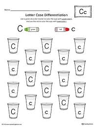 all worksheets letter c worksheets for preschool printable