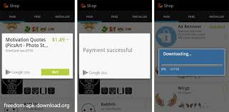 apk freedom how to do in app purchases with freedom apk freedom apk