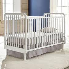 3 In 1 Convertible Cribs by Eco Chic Baby Kennedy Classic 3 In 1 Convertible Crib Pure White