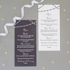 fairy light wedding invitation full sample set by the two wagtails