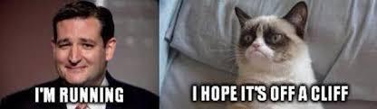 Ted Cruz Memes - funny memes skewering the gop candidates ted cruz vs grumpy cat