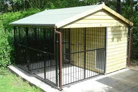 indoor outdoor dog kennel plans