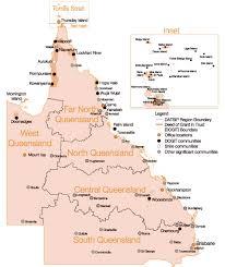 map of queensland queensland map queensland mappery