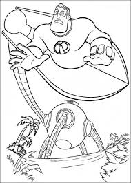 free printable coloring incredibles coloring pages 22
