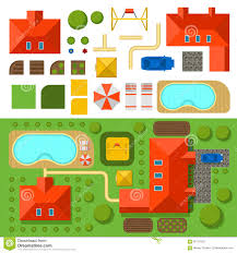Plan Of House House Plan Vector Stock Image Image 7228741