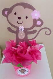 Baby Monkey Centerpieces by Tyler U0027s Monkey Party Monkey Baby Monkey And Babies