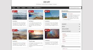 75 awesome free blogger templates feedtip