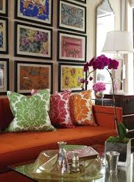 the lovely side orange couches yes i got one