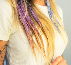 sparkly hair how to wear glitter in your hair the coveteur coveteur